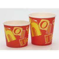 China Food Grade Disposable Christmas Soup Bowls With Lids FDA Approved Paper wholesale