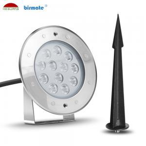 China 10W mini  Led Pin Lights , Outdoor Landscape RGB Color LED Garden Light SS316L IP68 wholesale