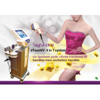 Buy cheap Lipo laser E-Touch IV Slimming system from wholesalers