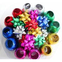 China Plastic Ribbon Confetti Star Bow Satin Curling Ribbon Egg For Decoration wholesale