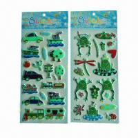 Buy cheap Glow-in-dark luminous stickers, used for promotional gifts, advertisement and from wholesalers