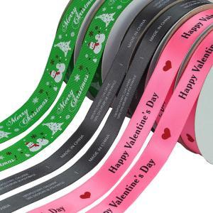 "China Custom Thermal Transfer Print Polyester Personalised Grosgrain Ribbon 3"" wholesale"