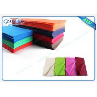 China Disposable Cutting Piece 45 Gr / 50gr Non Woven Kitchen Tablecloth Raw Material Colorful Cover wholesale