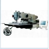 China Heavy Duty Programmable Pattern Sewing Machine with Large Shuttle Hook on sale