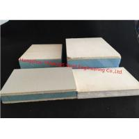 China Magnesium Oxide EPS / XPS Insulated Sandwich Panels For Ceiling / Wall / Floor System wholesale