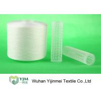 China Strong TFO White Dyed Polyester Spun Yarn For High Speed Sewing Machine wholesale