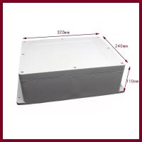 China 320x240x110mm large Flange Plastic Case for Switch Box on sale