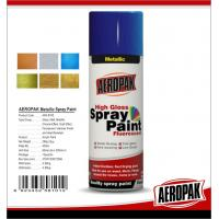 Quality Fast Dry 400ml Aerosol Spray Paints /  High Coverage Black Spray PaintFor Cars for sale