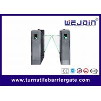 Buy cheap 110V/220V stainless steel fast lane automatic access control system , flap barrier gates , barrier gates from wholesalers