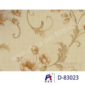 China PVC  Coating  Film    PVC Decorative Film  D-83023 M the carnot  0.12-0.14mm wholesale