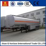 8X4 Oil Tank Truck Trailer / Fuel Tank Semi Trailer Q325 Steel Material