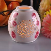 Buy cheap Personalised Ceramic Candle Holder Handmade Heat Resistant ASTM Test from wholesalers