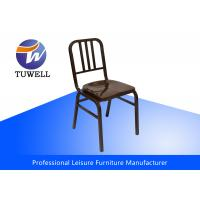 China Colorful Available Emeco Navy Steel Dining Chairs For Dining Room wholesale