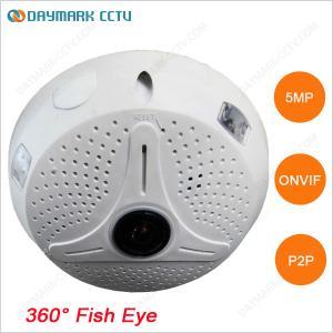 China 360 degree panoramic fish-eye lens 5 megapixel cctv camera wholesale