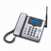 China GSM FWP with 2-way Handsfree Speaker and LCD Indicator, Supports Short Messages wholesale