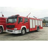 China Howo 4x2 Fire Fighting Truck with 1000 Liter Dry Powder Max Speed 102km/h wholesale