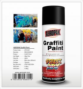 China Aeropak  aerosol can 450ml 10oz Graffiti spray paint with all colors wholesale