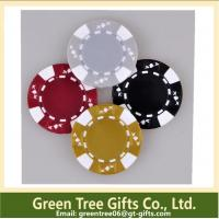 China 3-tone Poker Chips,crown poker chip custom aluminium poker chip set casino clay pokerchips wholesale