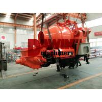 Quality Effective Self Loading Concrete Mixer with Pump with 450L Drum and 30m3 Pumping for sale
