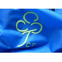 Buy cheap SGS Custom Clothing Patches For Shirt With 3d Raise Logo / Silicone Heat from wholesalers