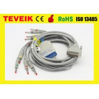 China Schiller EKG Machine EKG Cable / ECG Cable with Integrated 10 lead Wires wholesale