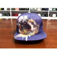 China Special material Customized Design7holes plastic buckle printing Sports Snapback Hats Caps wholesale