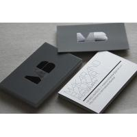 China Custom Design Black Paper Business Card Offset Printing Free Samples wholesale