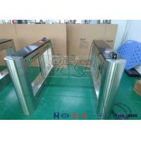 Quality Metal Detector Swing Barrier Gate Entrance Control Automation Door Entry Systems for sale