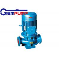 China ISG cold / hot water vertical fire-fighting booster pump remote water supply warming systems wholesale