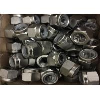China Duplex Stainless Steel S32760 Hex Nut Nylon Nut Heavy Hex Nut M6 - M100 Size on sale