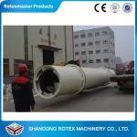 China GHG 1.8 * 18  1 Ton per Hour Capacity Rotary Drum Wood Chip Dryer wholesale