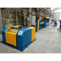 China Automated ISO9001 Copper Wire Drawing Machine , Horizontal Welding Rod / Wire Nail Making Machine wholesale