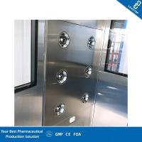 China Lab Automatic Clean Room Equipment Air Shower SUS304 Material CE Certification wholesale