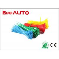 Quality Colorful Self Locking Electric Wiring Nylon Cable Ties Electrical Wiring for sale