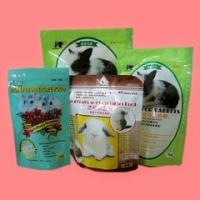 Quality Ziplock Packaging Bag / Customized Printed Pet Food Pouch Three Side Seal for sale