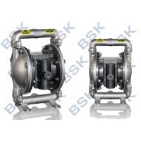Quality Stainless Steel Chemical Diaphragm Pump 8.3bar Low Pressure for sale