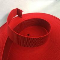 China Outdoor Furniture Cover Type Elastic Upholstery Webbing in red color wholesale