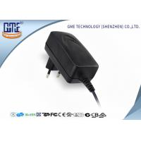 China 100-240V 50/60Hz 12V 1.25A Wall Mount Power Adapter for European Market wholesale