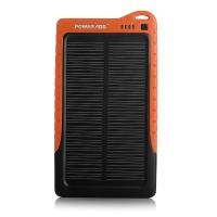 China Ce Rohs Usb Portable Solar Panel Power Bank 7200mah / Solar Panel Charger wholesale