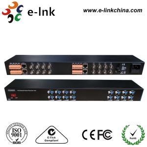 China 16 Channel Active UTP Video Balun , 19 '' 1U UTP Video Transceiver wholesale