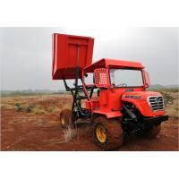 China Compact Mini Tipper Truck / Farm Service Truck Simple Structure Agriculture Loader 4wd on sale