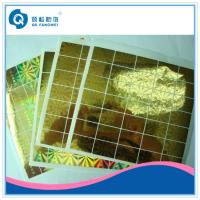 China Laser Hologram Sticker For Mobile Phone , Stationery Anti Tamper Stickers wholesale
