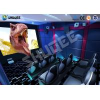 China Small Mobile 7D Movie Theater With 9 seats possess Intelligent 7D control system wholesale