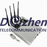 Buy cheap New Style High Power Desktop Cell Phone Jammer - CDMA/3G/GSM Blocker with 2 from wholesalers