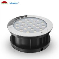 China 18W Ourdoor RGB External Control Led Ground Lights , Waterproof IP68 Low Voltage DC 24V Ground Light wholesale