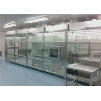 China Class 100000 Dust Free Softwall Clean Room With FFU wholesale