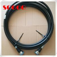 China Copper RF Coaxial Jumper Cable Assembly 7/16 Din Male To Male Connector on sale