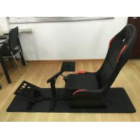 China Customized Foldable Sport Racing Seats For Video Games PVC Material wholesale