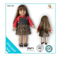 "OEM online doll dress-up girl games, toy doll, 18"" american girl doll factory"