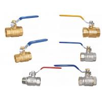 China Brass full port  ball valves wholesale